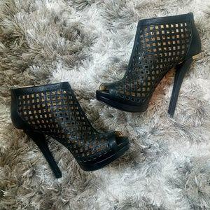 NWOT Michael Kors Caged Stilettos